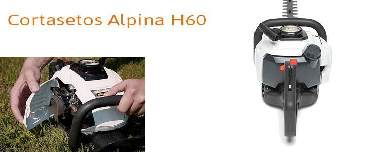 Cortasetos a gasolina Alpina H60, opiniones y precio