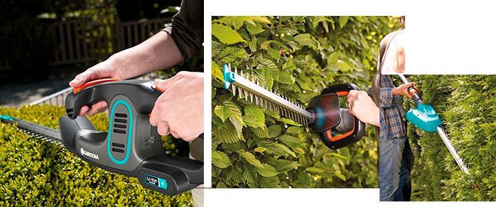 Comprar un cortasetos Gardena a batería o eléctrico