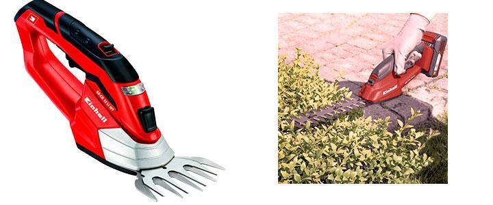 Einhell GE-CG 12 Li WT, tijeras cortasetos a batería