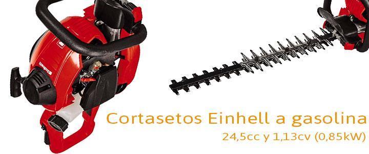 Einhell GE-PH 2555A, cortasetos a gasolina