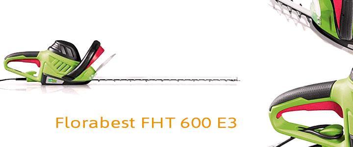 Cortasetos eléctrico Lidl Florabest FHT 600 E3