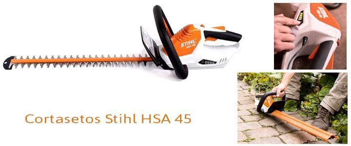 Cortasetos Stihl HSA 45